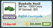 Bluebells knoll market data