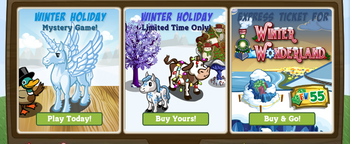 Winter Wonderland Farm Early Access Market