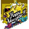 Happy New Year-icon