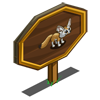 Fennec Fox Mastery Sign-icon