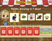 Raffle Booth Draw October 3 2011