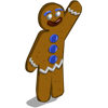 Gingerbread Man-icon