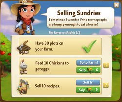 Selling Sundries