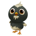 Baby Plymouth Rock Chicken.png