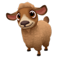 Baby Caramel Pygora Goat.png