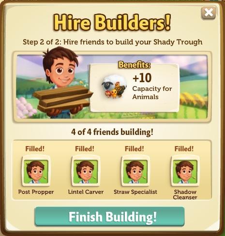 Shady Trough building phase 2