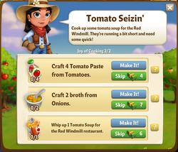 Tomato Seizin'
