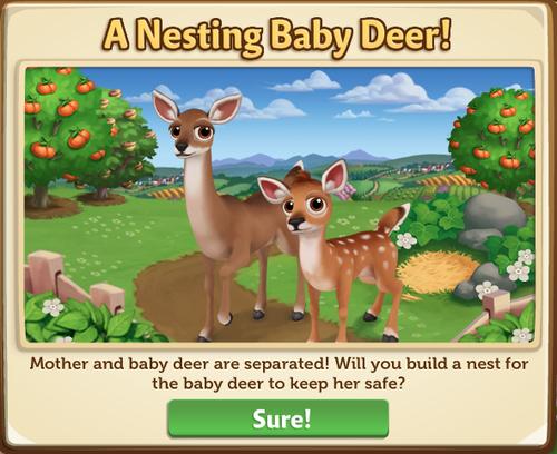 Deer Nest Start