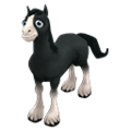 Baby Black Shire Horse.png