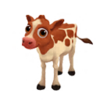 Baby Ayrshire Cow