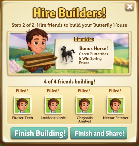 Butterfly House Building Phase 2