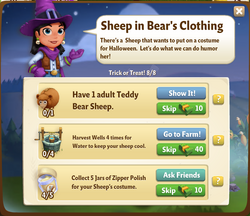 Sheep in Bear's Clothing