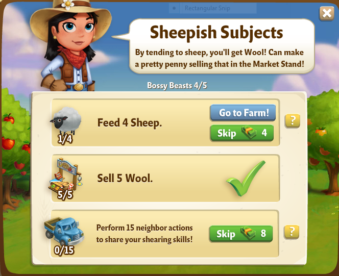 Sheepish subjects