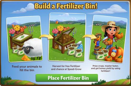 Fertilizer Bin start