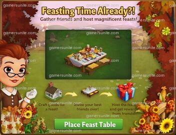 Feast Table Place