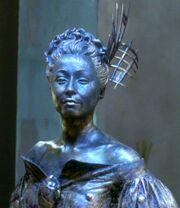 Katralla statue