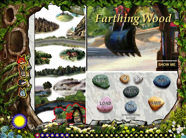 File:Animals of Farthing Wood CD ROM Menu.jpg