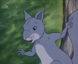 Mrs Squirrel