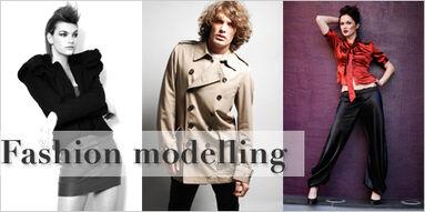 Fashion-modelling