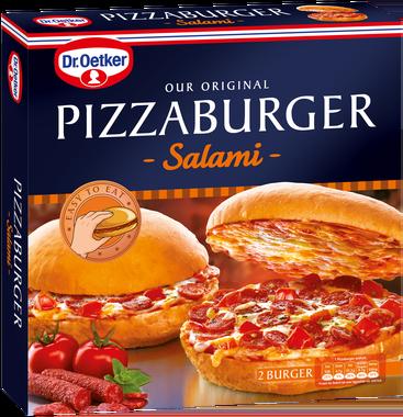 Pizzaburger Zubereitung