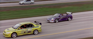Lancer Evolution VII & Eclipse Spyder GTS - Audition Race