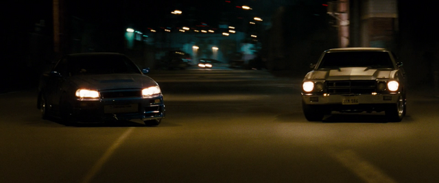 File:Brian vs. Dom - Skyline R34 GT-R & Chevelle SS 454.png