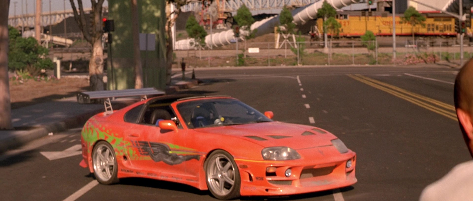 Image Dom S Toyota Supra Side View Jpg The Fast And