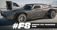 Dom's Ice Dodge Charger (F8)