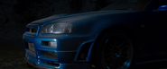 '02 Skyline R34 GT-R - Front View