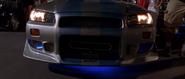 1999 Skyline R34 front