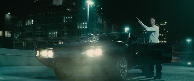 File:Toretto's Charger - Front View FF7.jpg