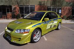 2002 Mitsubishi Lancer Evolution VII  The Fast and the Furious