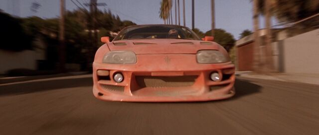File:Dirty Toyota Supra - Front View.jpg