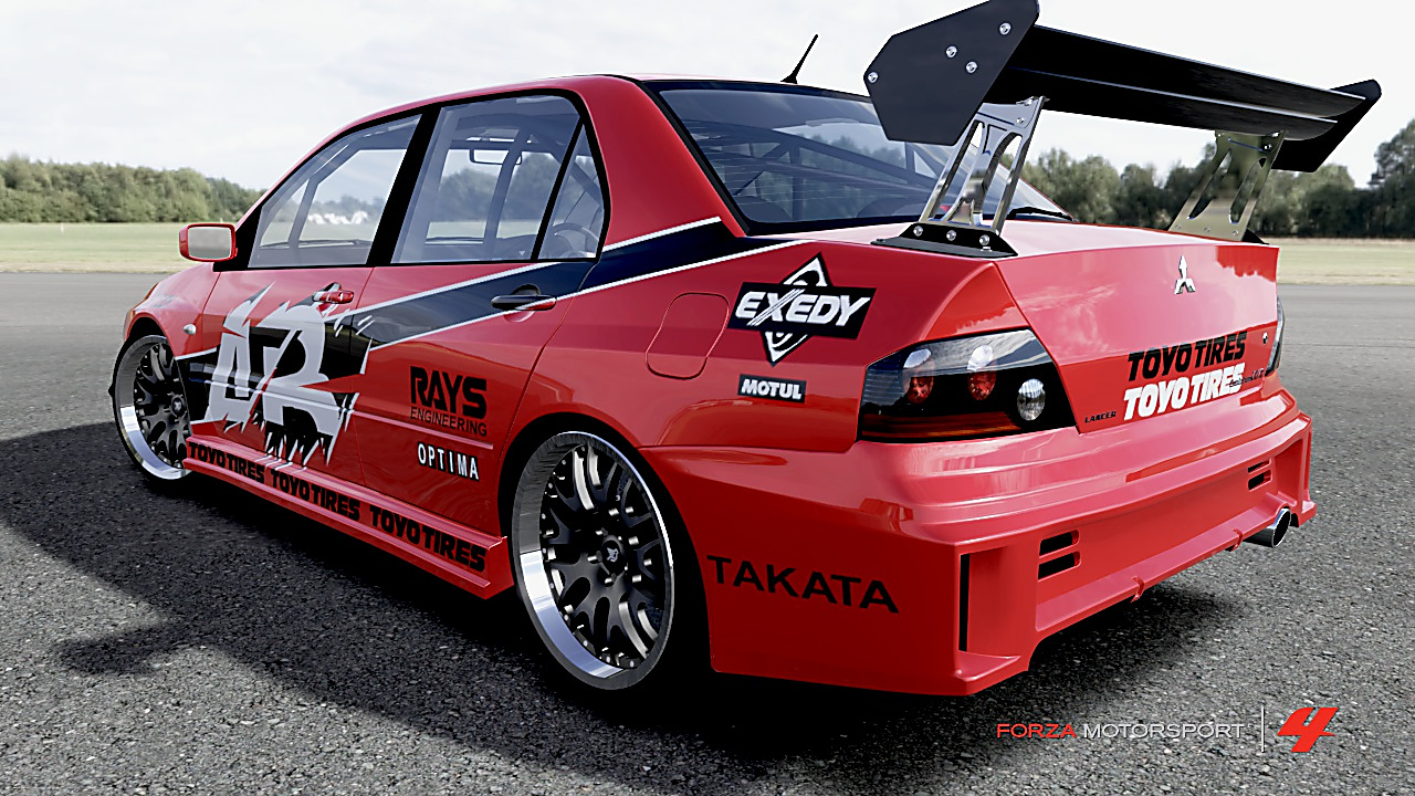 Image  Forza Motorsport 4  Lancer Evolution IXjpg  The Fast