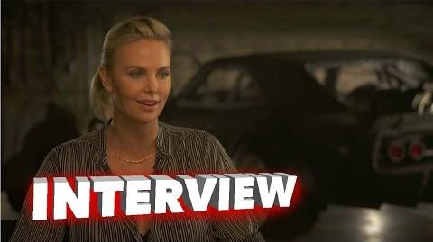 The Fate of the Furious Charlize Theron Exclusive Interview