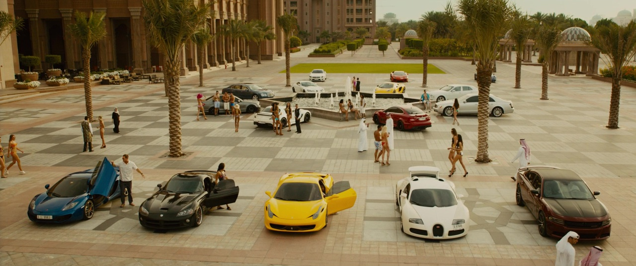 Dodge Viper Used >> Image - The Crew in Abu Dhabi - Furious 7.jpg | The Fast and the Furious Wiki | FANDOM powered ...