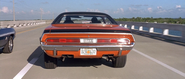 Dodge Challenger - Rear View (2F2F)