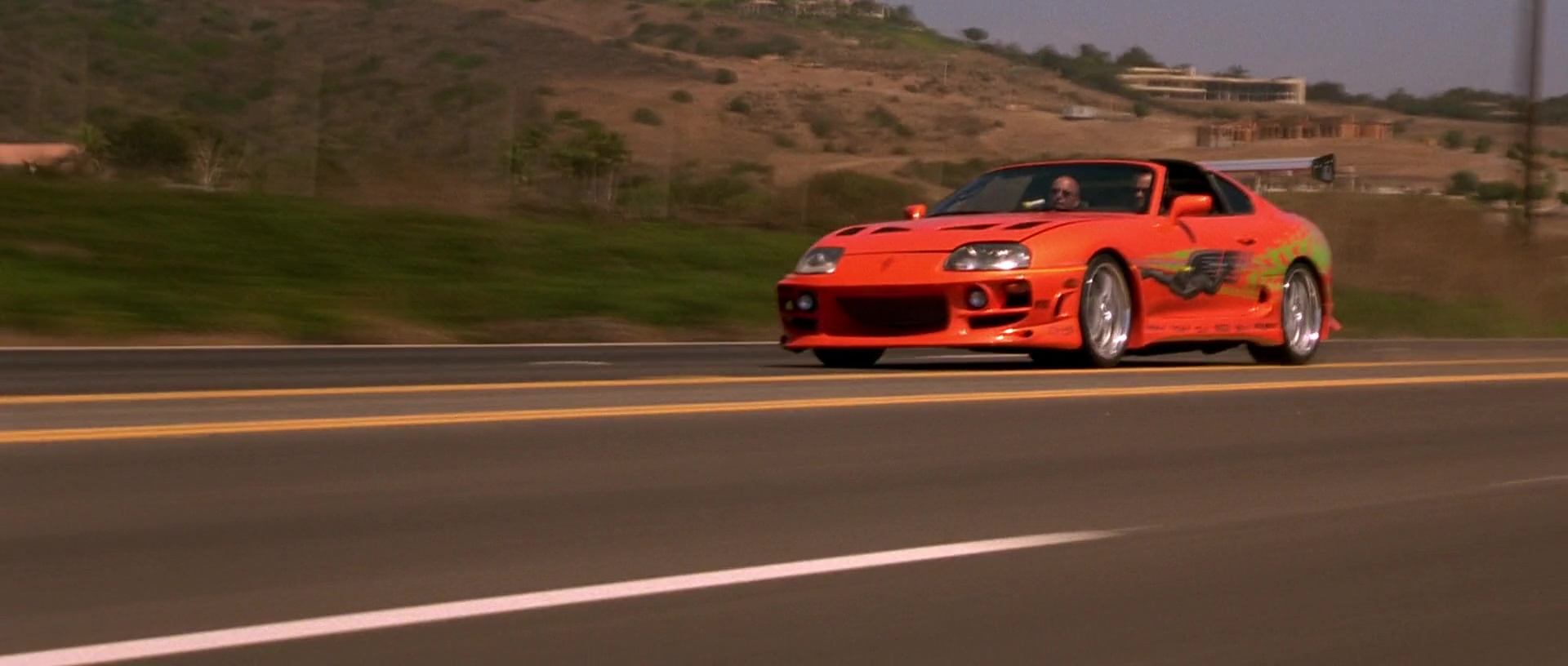 Image Brian Amp Dom Toyota Supra Jpg The Fast And The