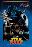 Star Wars - Darth Vader as he appears on the Star Wars The Coin Video Experience Poster
