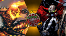 Fatal Fiction Thumbnail - Spawn VS Ghost Rider by The-Myth-of-Legend