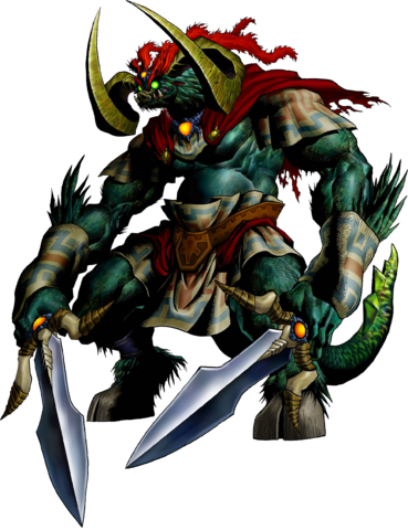 File:Ganon Artwork (Ocarina of Time).png