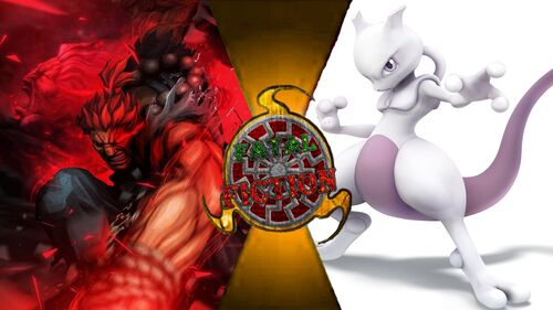 Mewtwo vs akuma