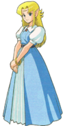 The Legend of Zelda - Princess Zelda as she first appears in A Link to the Past