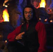 Mortal Kombat - Shang Tsung played by Cary-Hiroyuki Tagawa as seen in Mortal Kombat The Movie