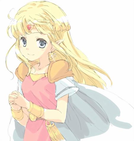 File:The Legend of Zelda - Princess Zelda by sazauri.png