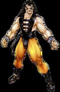 Mortal Kombat - Shang Tsung as he appears in Mortal Kombat 3, Official Concept Art by John Tobias