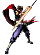 Strider - Strider Hiryu as seen in Marvel vs Capcom 3