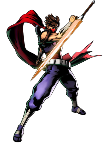 File:Strider - Strider Hiryu as seen in Marvel vs Capcom 3.png