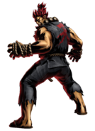 Street Fighter - Akuma as seen in Marvel vs Capcom 3