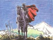 Dragon Quest - The Decedent of Erdrick on Horseback